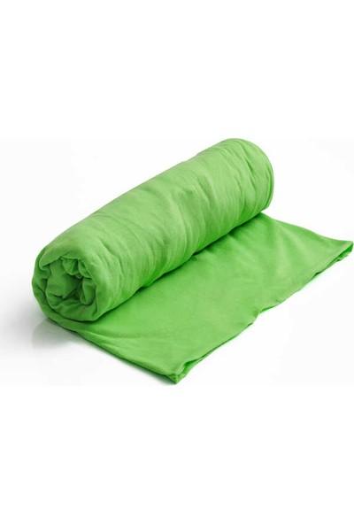 Evren Ev Tekstil Lastikli Çarşaf Tek Kişilik 100x200 Yeşil
