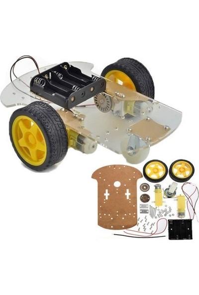 Maker Arduino Uzaktan Kumandalı Robot Araba Kiti Hazır Kit