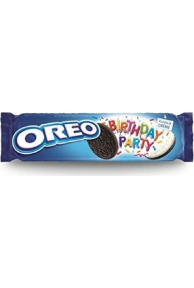 Oreo Birthday Party 4'lü Bisküvi