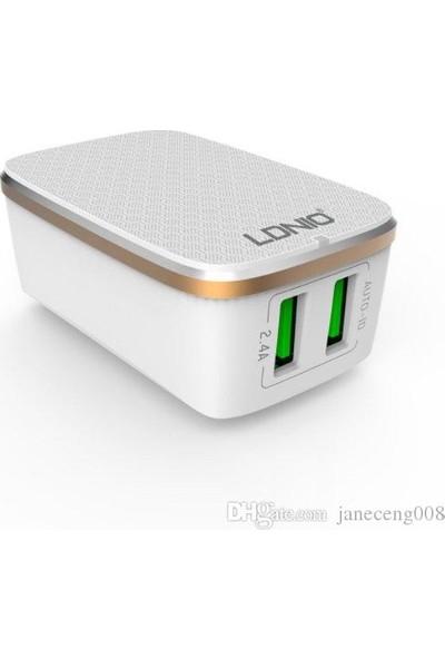 X-Voora 2.4A Çift USB Portlu Micro USB Şarj Cihazı