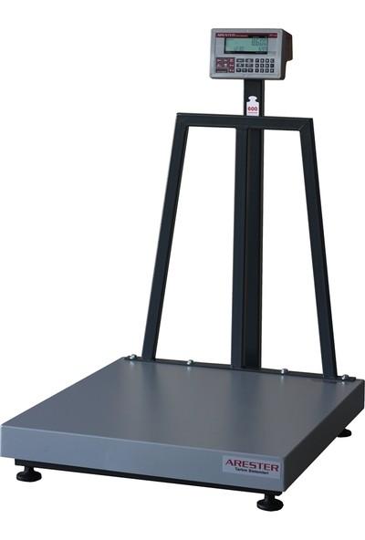 Arester Sf-LCD 80 x 90 cm 600 kg RS232-USB Seri Port Bilgisayar Bağlantılı Baskül