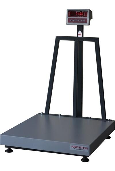 Arester Sc-LED 80 x 90 cm 600 kg Elektronik Tartım Baskülü