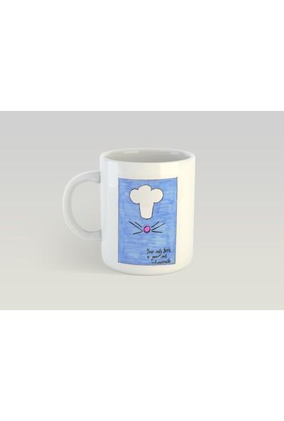 Minimalist Mug Designs Minimal Özel Ratatouille Tasarımlı Kupa