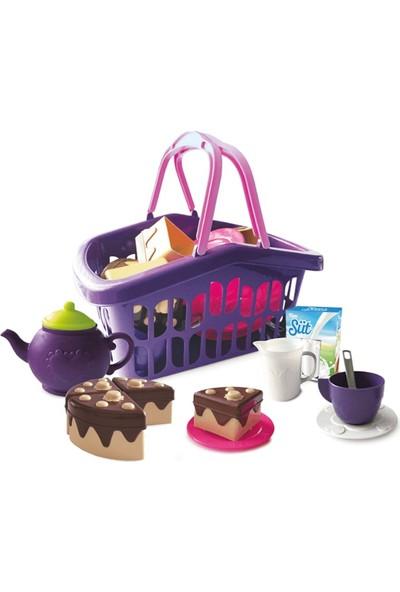 Mgs Oyuncak Little Girls Kitchen Piknik Sepeti 26 Parça URT-5631