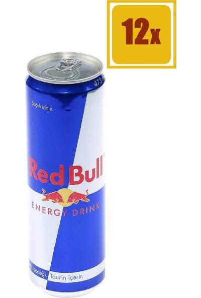 Red Bull Redbull 473 ml 12'li Set