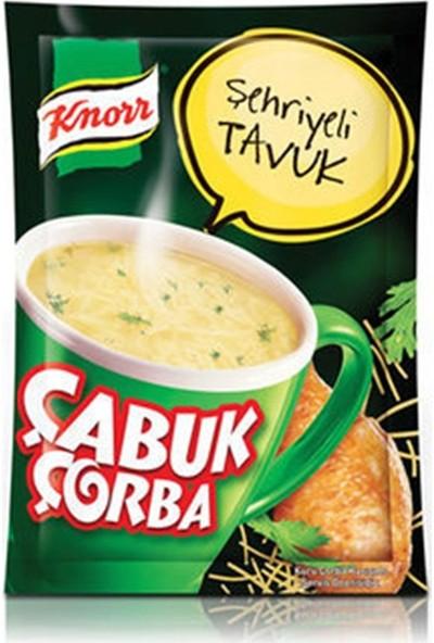 Knorr Şehriyeli Tavuk 17 gr Çabuk Çorba 24'lü Set