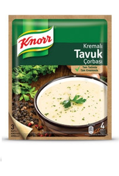 Knorr Kremalı Tavuk 65 gr Çorba 12'li Set