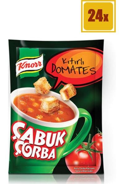 Knorr Kıtırlı Domates 22 gr Çabuk Çorba 24'lü Set