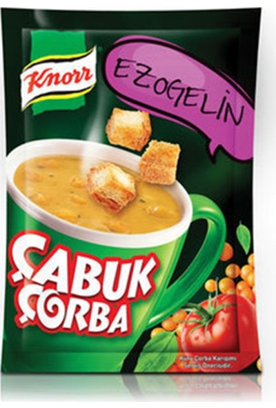 Knorr Kremalı Ezogelin 22 gr Çabuk Çorba 24'lü Set
