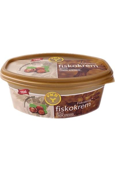 Fiskobirlik Fiskokrem Şekerli Sütlü Fındık Ezmesi 400 gr 8'li Set