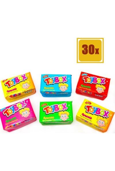 Toybox Oyuncaklı Meyve Aromalı Şekerli Sakız 30'lu Set