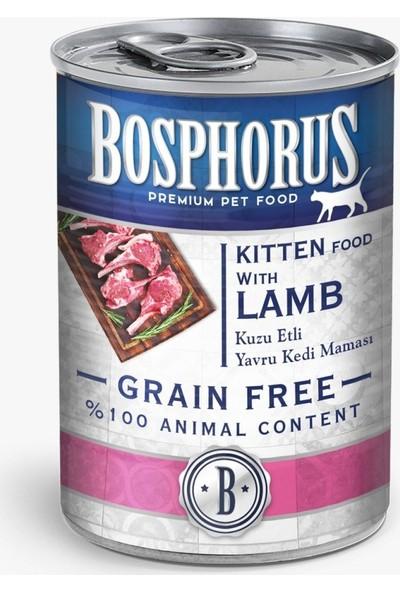 Bosphorus Tahılsız Kuzulu Yavru Kedi Maması - 6'lı