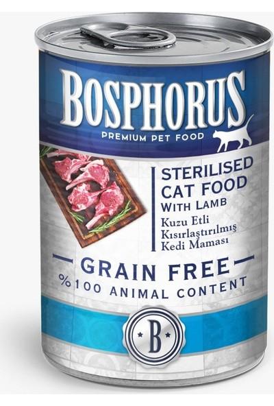 Bosphorus Tahılsız Kuzulu Kısır Kedi Maması - 12'li