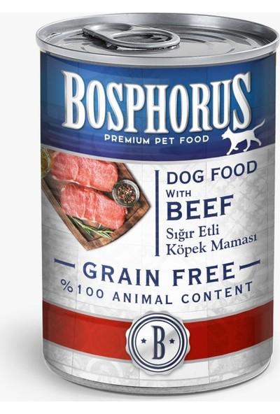 Bosphorus Tahılsız Sığır Etli Köpek Maması - 12'li