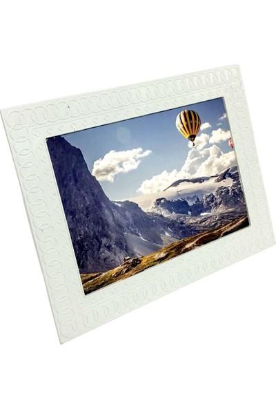 Destro Camsız Desenli Plastik Fotoğraf Çerçevesi 15 x 21 cm