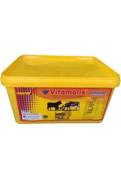 Royal Vitamolix Yalama Kovası 3 kg Melas Bazlı Yalama Kovası