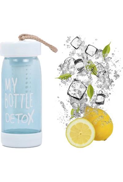 My Bottle Detox Cam Matara 400ML Şişe Sağlık Detoks Şişesi