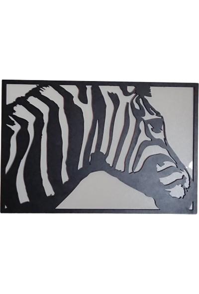 Oteberry Zebra Dekoratif Duvar Dekoru Duvar Panosu