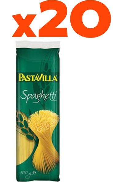 Pastavilla Spagetti Makarna 20'li Set