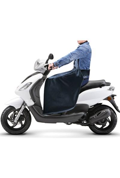 Ksburda Motosiklet Scooter Rüzgar Yağmur Koruyucu Diz Bacak Vücut Koruma Örtü Rüzgarlık