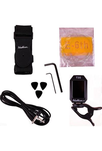 Washburn WS300BPACK Elektro Gitar Paketi