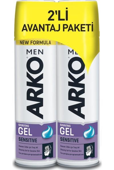 Arko Men Sensitive Tıraş Jeli 2x200ml