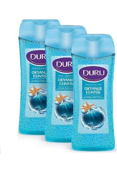 Duru Fresh Sensations Okyanus Esintisi Duş Jeli 3x450ml