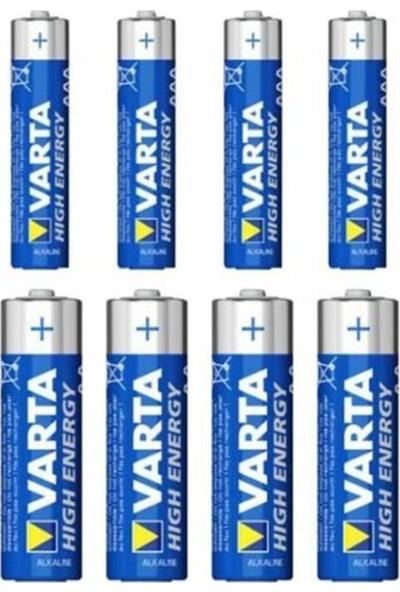 Varta 4903 LED Light + 4 AA + 4 AAA Pil