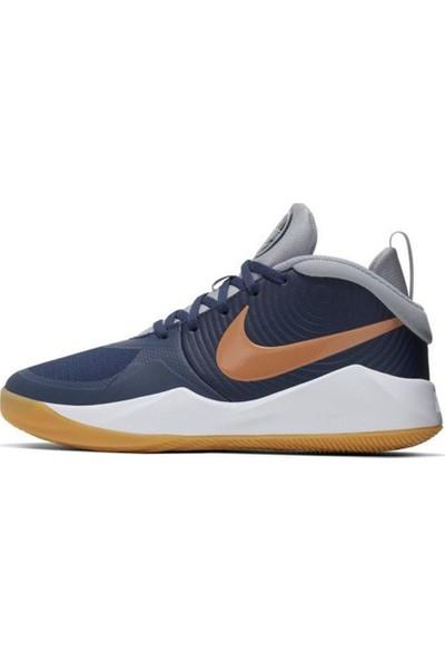 Nike AQ4224-402 Team Hustle Basketbol Ayakkabısı