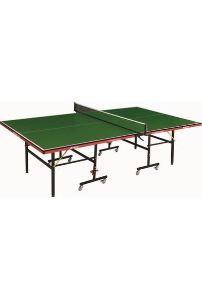 Delta Satisfaction Yeşil Masa Tenisi Masası + Ağ-Demir 2Raket 3Top