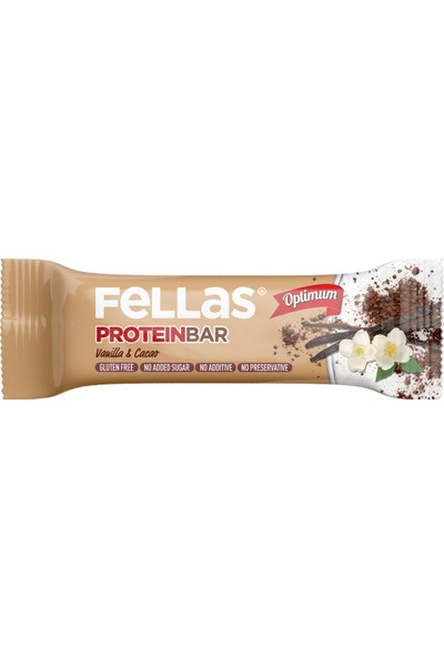 Fellas Protein Bar Vanilya ve Kakaolu 32 gr