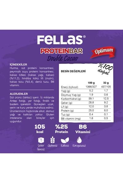 Fellas Optimum Protein Bar Duble Kakao 32 g