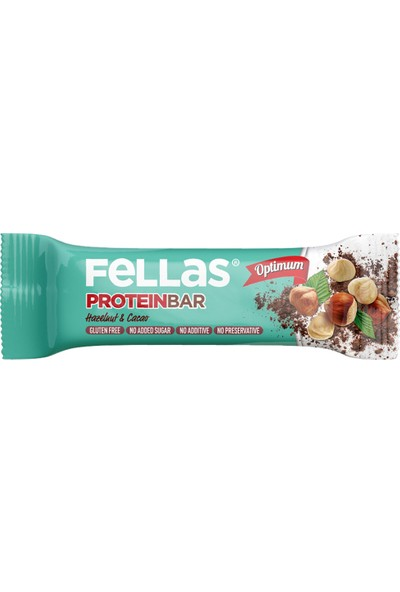 Fellas Protein Bar Fındık ve Kakaolu 32 gr