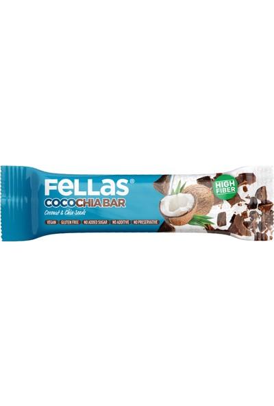 Fellas Cocochia Bar Chia ve Hindistan Cevizi 40 g