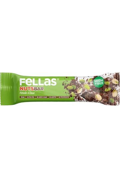 Fellas Meyve Bar - Antep Fıstığı ve Kakao 40 gr x 12 Adet