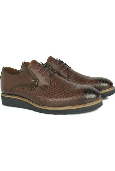 Erkan Kaban 914502 314 Erkek Kahve Deri Klasik Ayakkabı