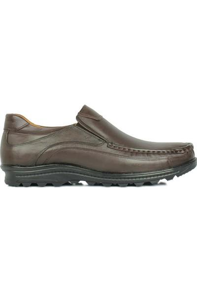 Kalahari 914400 314 Erkek Kahve Deri Kışlık Ayakkabı