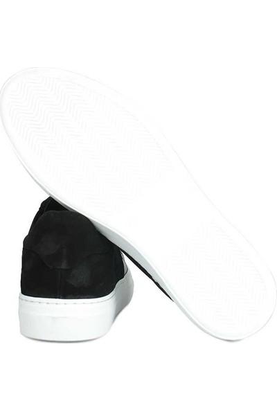 Erkan Kaban 286004 014 Erkek Siyah Süet - Deri Ayakkabı