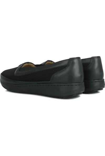 Erkan Kaban 155039 014 Kadın Siyah Günlük Ayakkabı