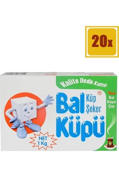Balküpü Küp Şeker 1000 gr 20'li Set