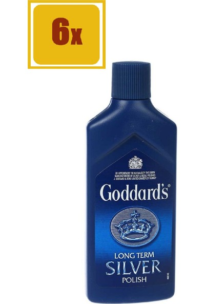 Goddard's Gümüş Parlatıcı 125 ml 6'lı Set