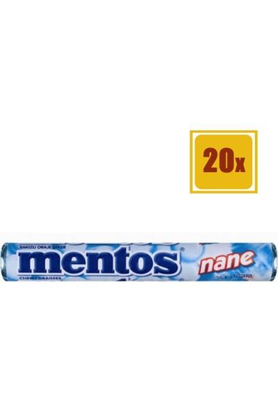 Mentos Nane Şeker 38 gr 20'li Set