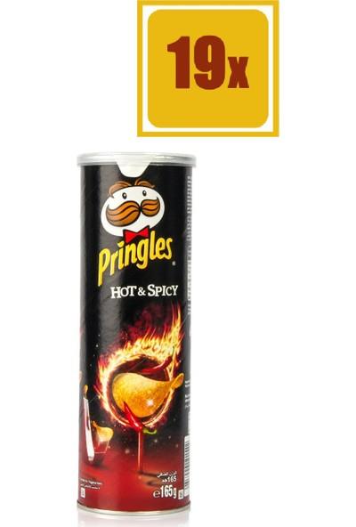Pringles Hot & Spicy 165 gr 19'lu Set