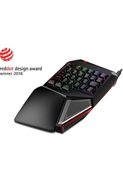 Rampage KB-R05 EAGLE RGB Versiyon USB Aydınlatmalı Oyuncu Q Multimedia Mekanik Klavye
