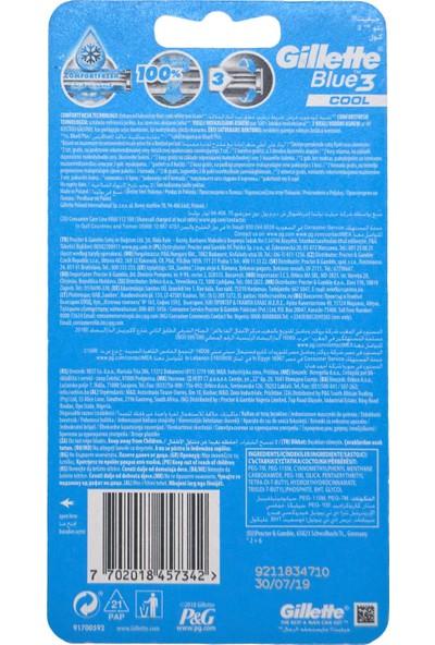 Gillette Blue3 Cool 6 + 2
