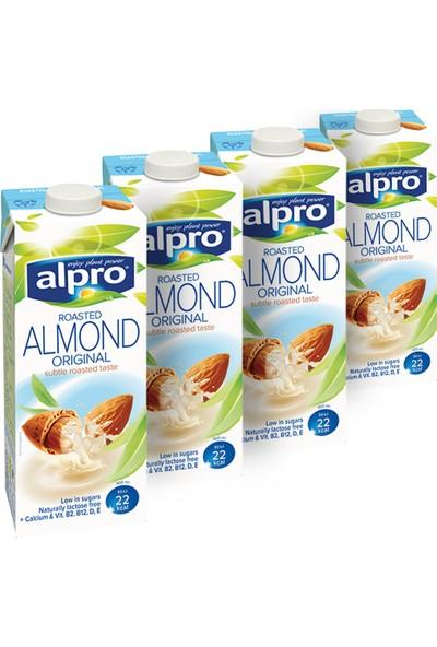Alpro Badem Sütü 1 lt x 4 Adet