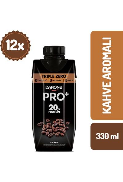 Danone Pro+ Kahveli Proteinli Süt 330 ml x 12 Adet