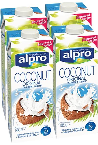 Alpro Hindistan Cevizi Sütü 1 lt x 4 Adet