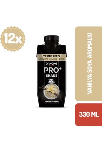 Danone Pro+ Vanilyalı Proteinli Süt 330 ml x 12 Adet
