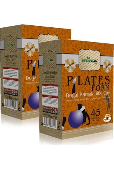 Hekimhan Pilates Plates Form Çayı - 45 Süzen Poşet x 2 Adet